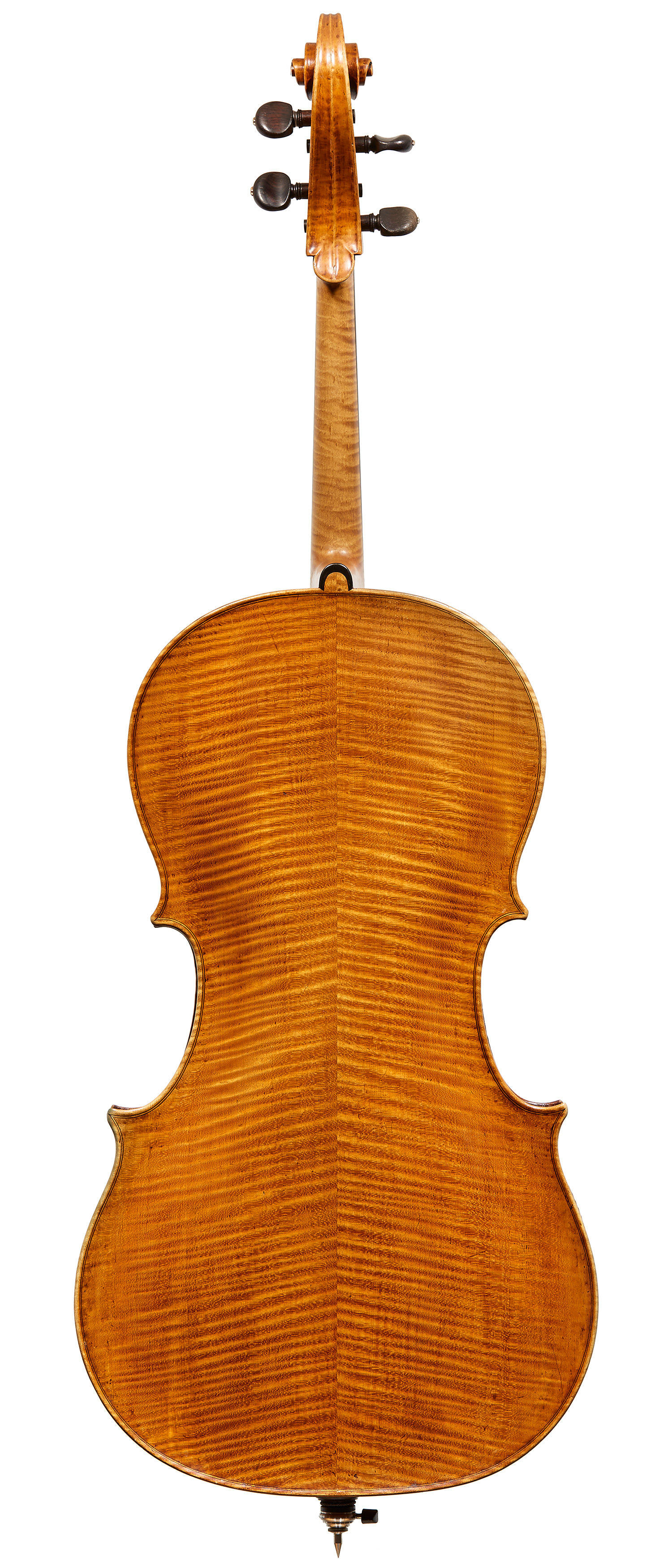 Santo Serafin Cello Back