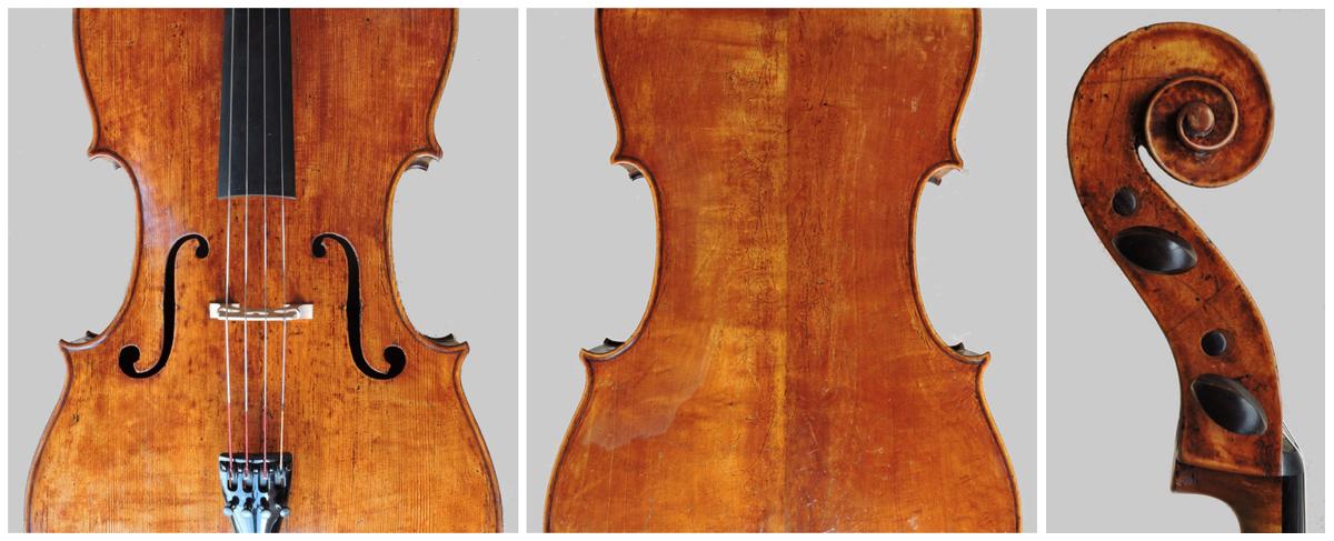 Cello 1 A18 w scroll