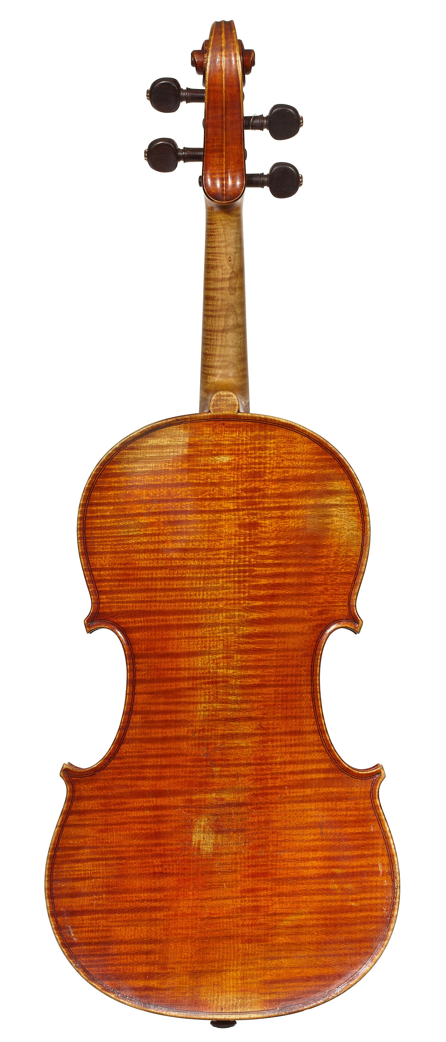 D'Espine viola back