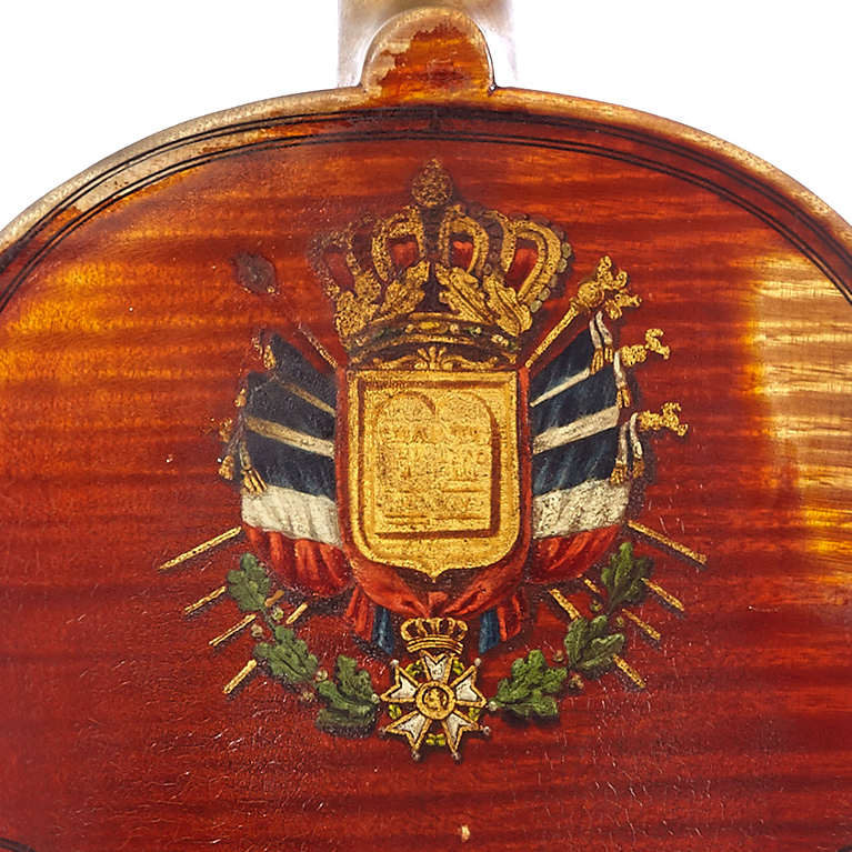 Decorated Gand violin