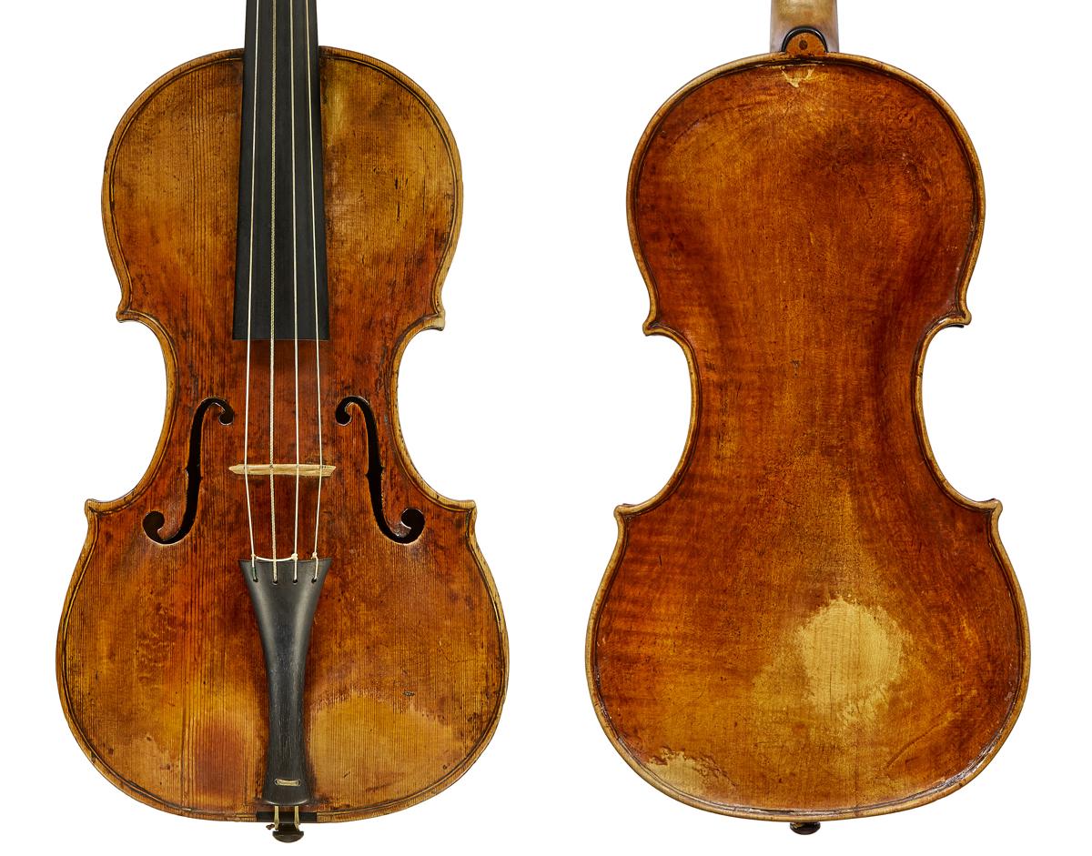 Antonio Pazarini violin 1739