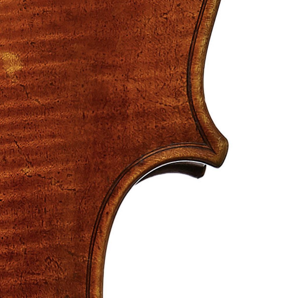 Vuillaume cello edgework