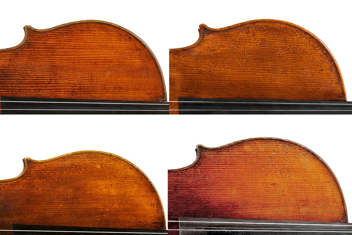 Vuillaume cello grain comparison