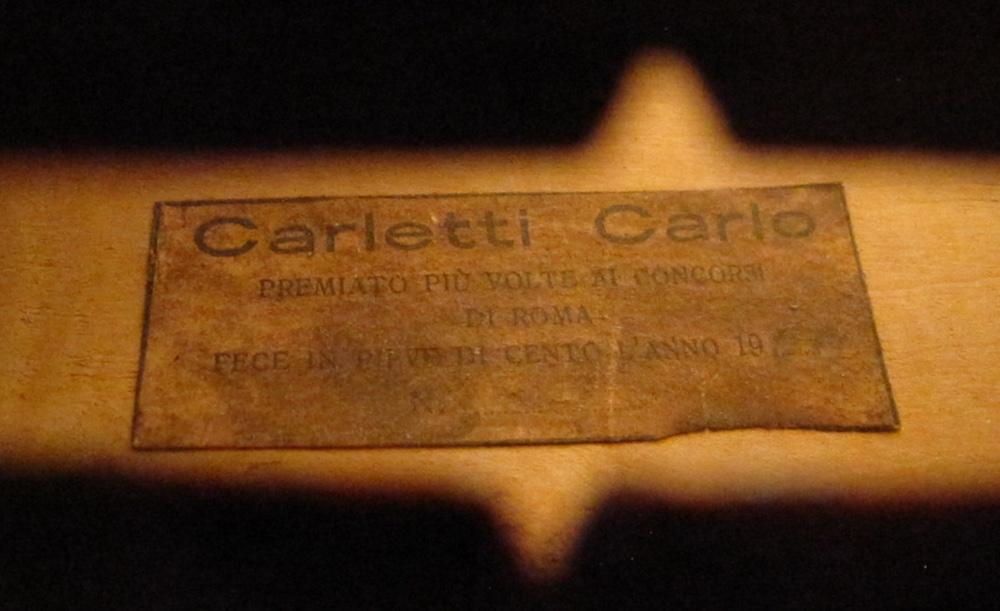 Carlo Carletti label