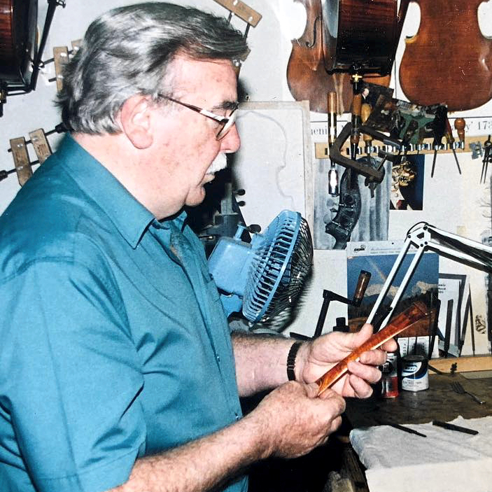 Bow maker William Watson