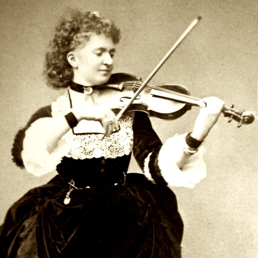 Wilma Neruda, violinist