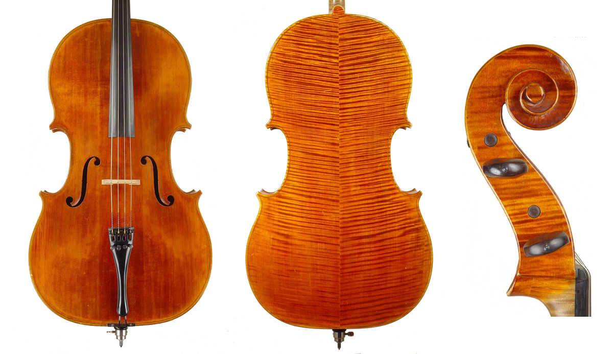 Genuzio Carletti cello made for Settin