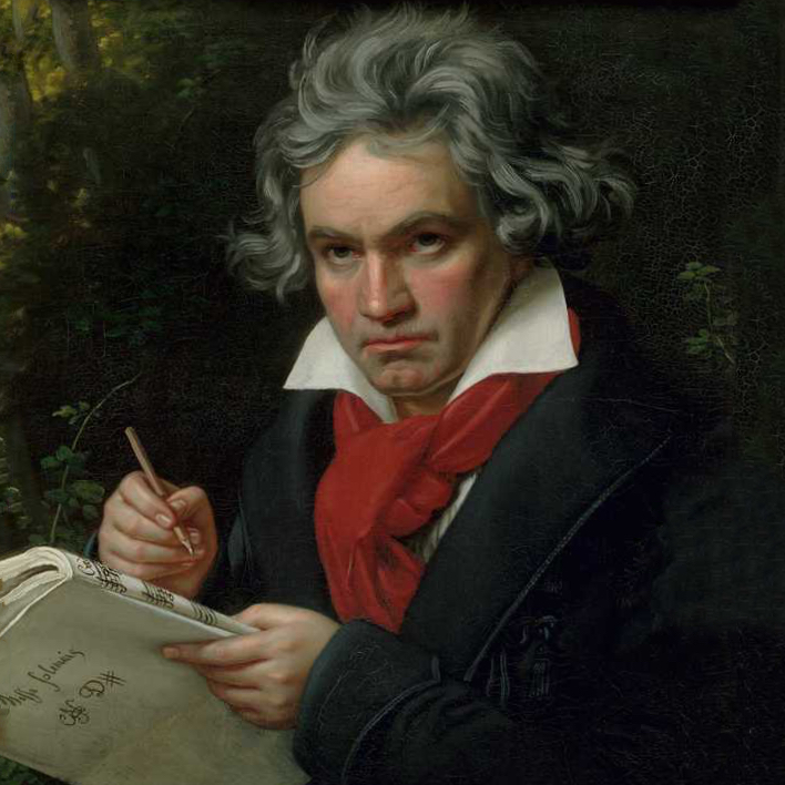 Portrait of Beethoven, 1819