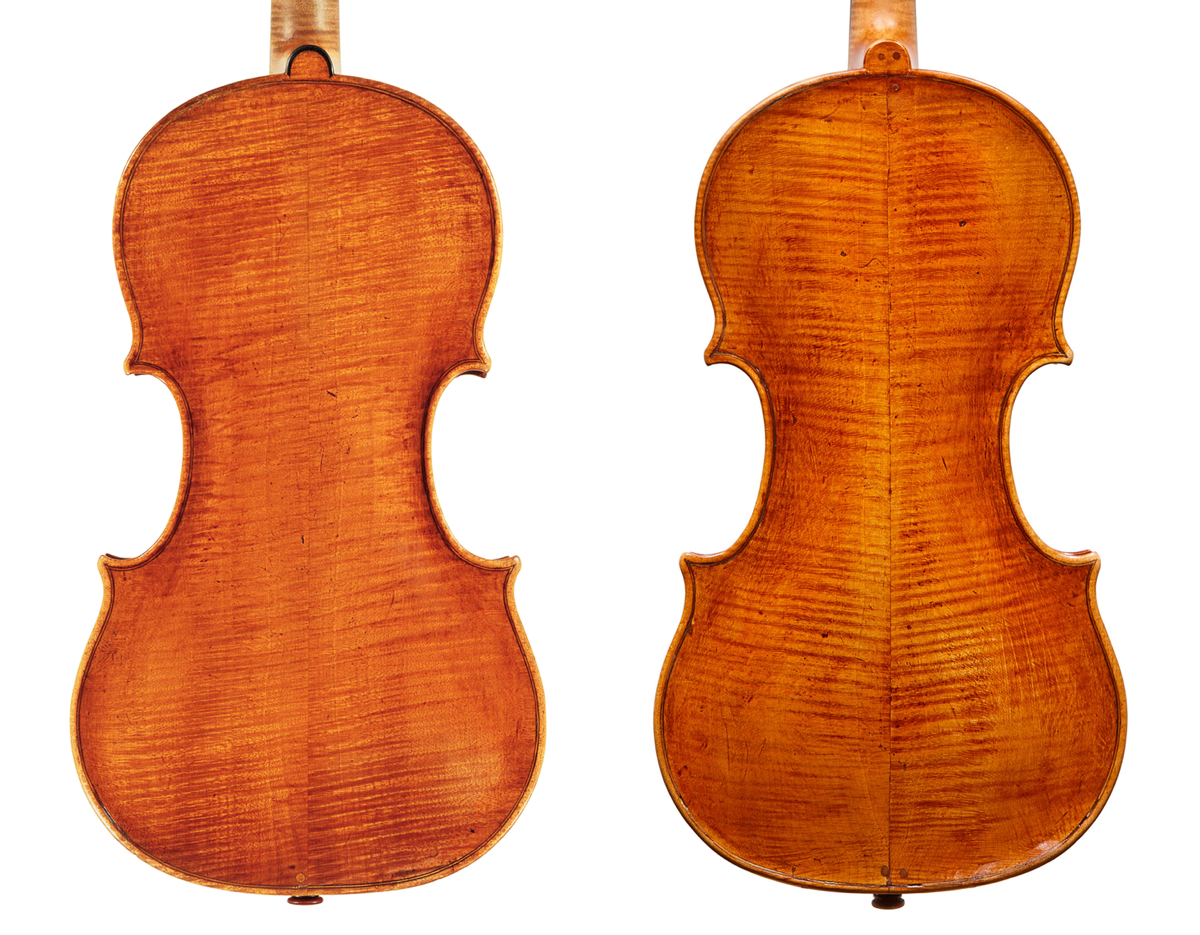 Gioffredo Cappa violin backs