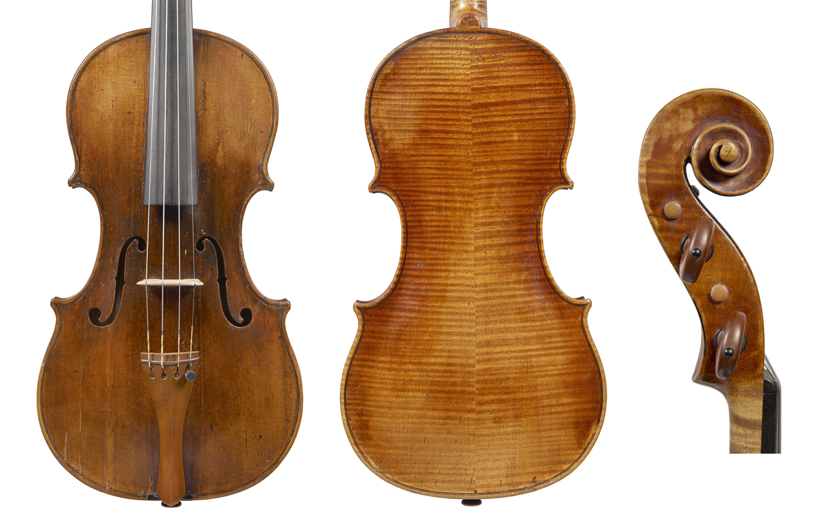 Cappa violin with inset ribs