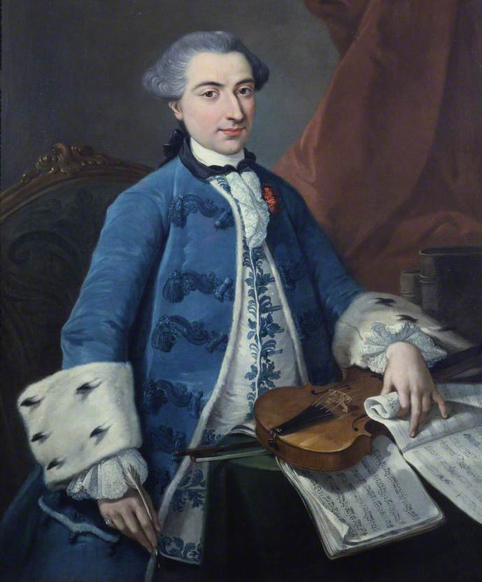 Gaetano Pugnani violinist and composer 1731-1798