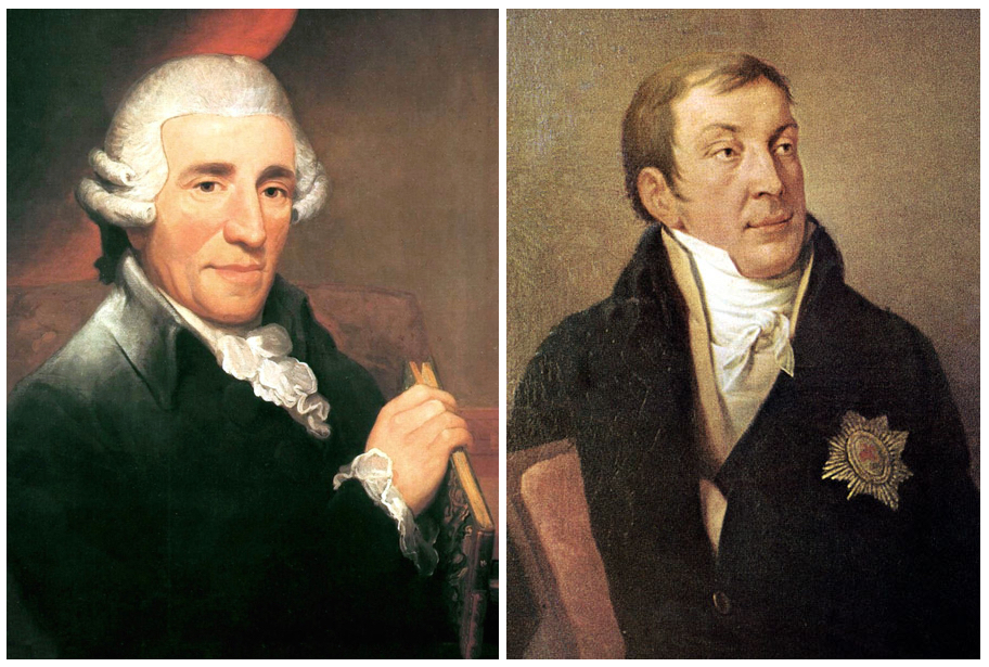 Joseph Haydn and Prince Lichnowsky