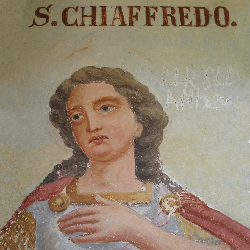 fresco of San_Chiaffredo_Oncino
