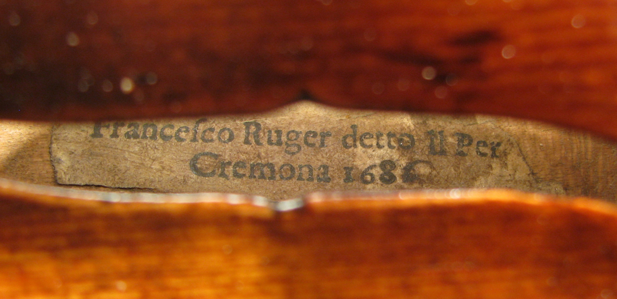 Francesco Rugeri label