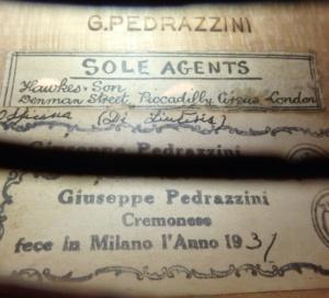 Pedrazzini label