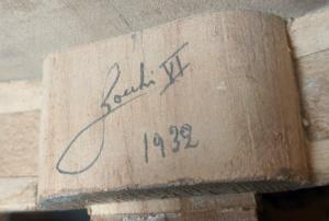 Rocchi inscription from 1932