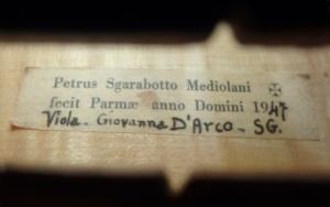 Sgarabotto label