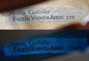 UV light label