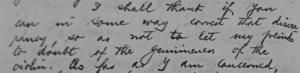 1923 letter