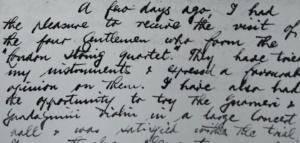 1926 letter