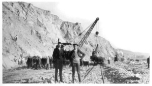 Nitrate mining in Iquique