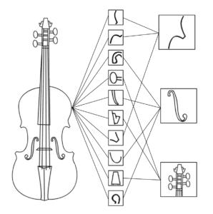 deconstructed violin