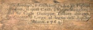 Carlo Testore label