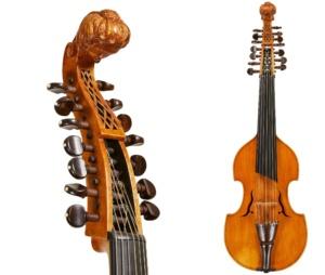 combined viola d'amore