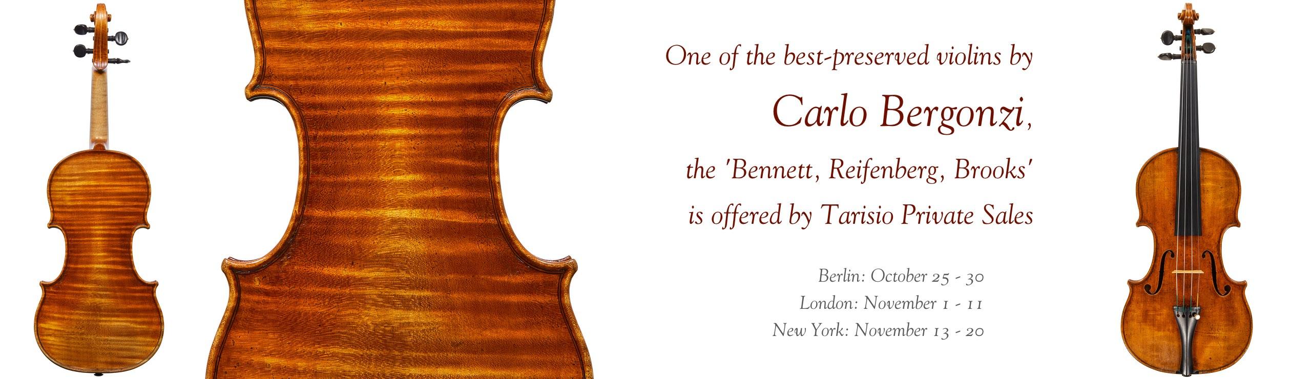 The 'Bennett, Reifenberg, Brooks' Carlo Bergonzi