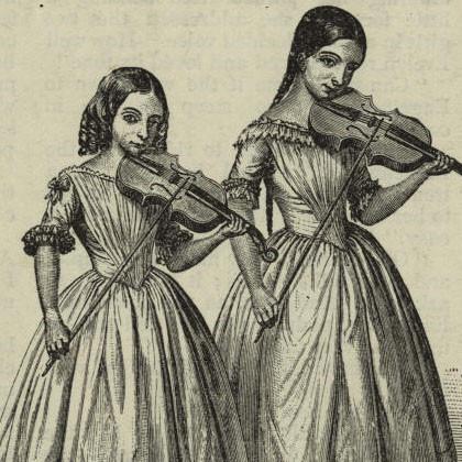 Maria and Teresa Milanollo