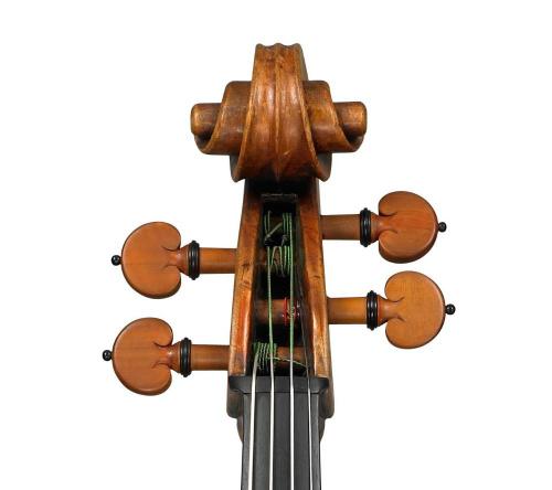 Mahler Strad viola head