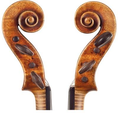 Auer Stradivari head