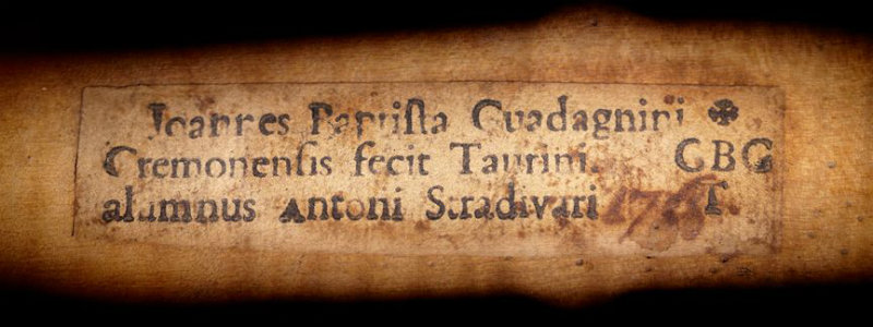 Huxham Guadagnini label