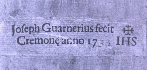 Label of Soil Guarneri