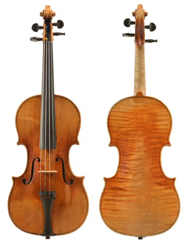 The 'Davidoff' Stradivari. Photo: J.-P. Echard, Cité de la musique