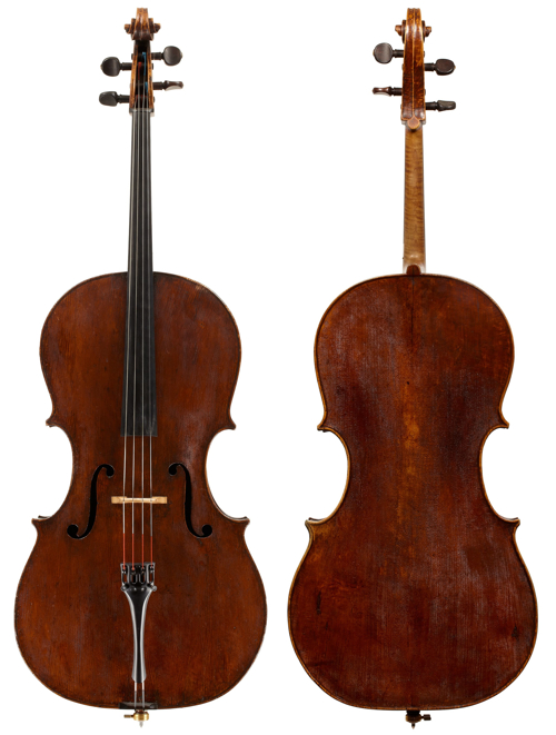 Giovanni Tononi cello c. 1680. Photos: Robert Bailey, Tarisio
