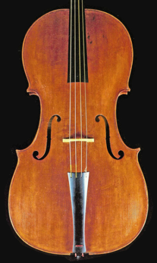 One cello survives with an original Giovanni Battista Tononi label dated 1740. Photos: courtesy Smithsonian, National Museum of American History