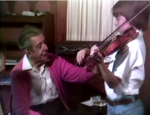 Joshua Bell masterclass with Ivan Galamian, 1980