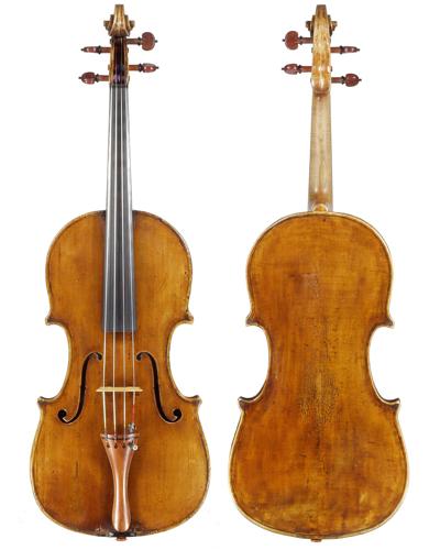 Maxim Rysanov's Giuseppe Guadagnini viola