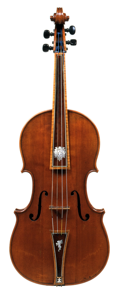 Stradivari's 1690 viola is a rare example of a tenore that has never been reduced in size
