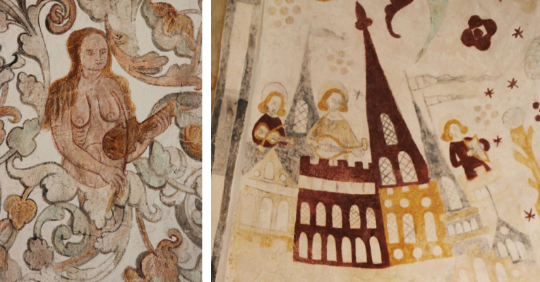 Early Danish frescoes
