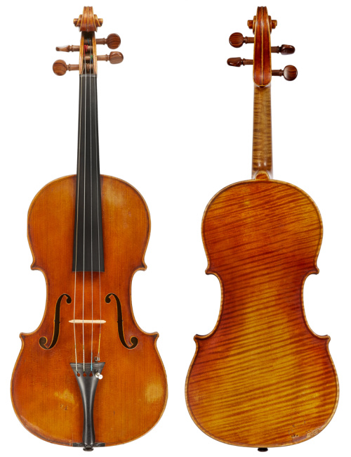 A violin from 1893 by Emil Theodore Hjorth