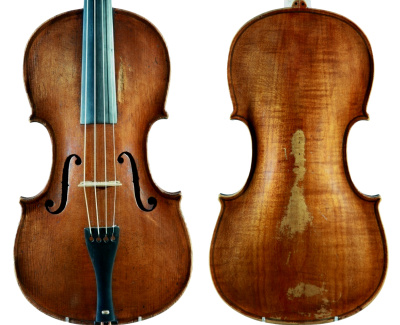 Andreas Hansen Hjorth, violin made in Copenhagen 1819