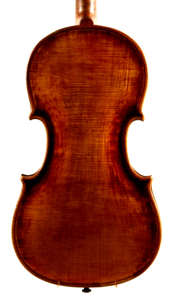 Niels Jensen Lund violin made in Copenhagen 1846