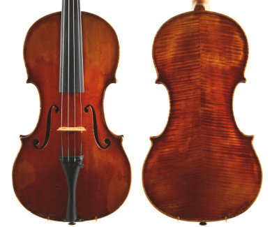 Otto Hjorth violin made in Copenhagen 1895