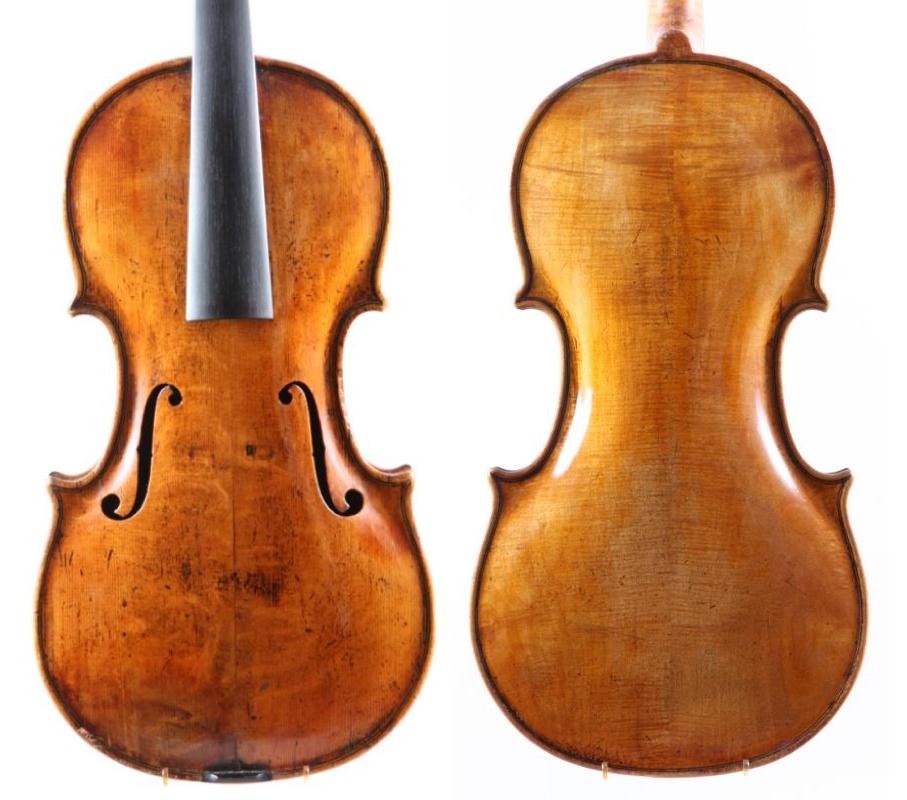 Iohan Hinrich Schnabel, viola made in Copenhagen 1788