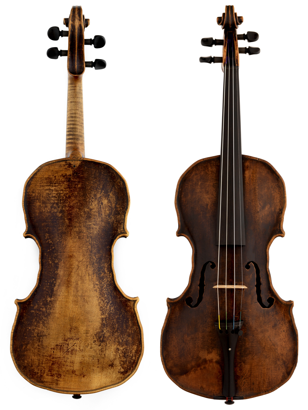 Gedler violin 1775. Photos courtesy of the ChiMei Museum