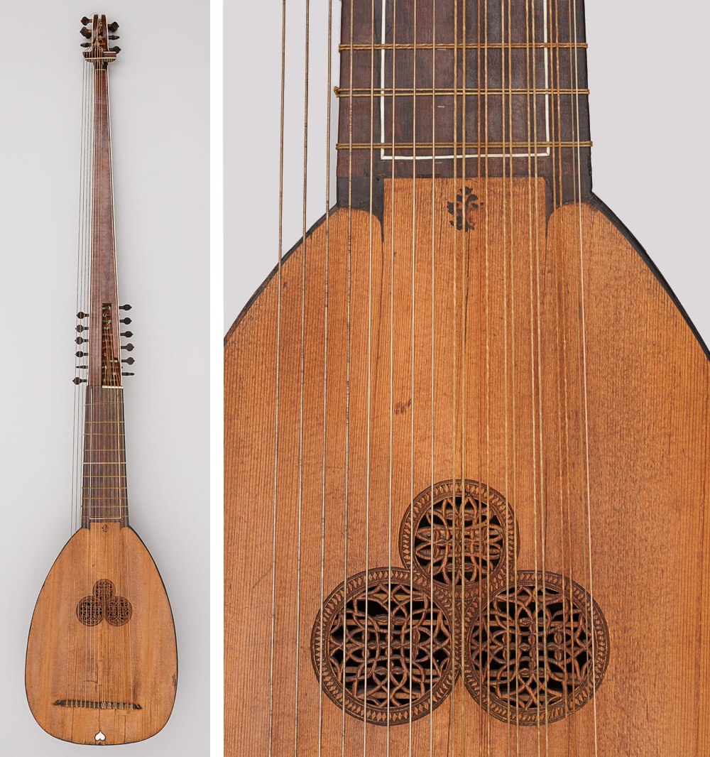 Tiefenbrugger theorbo