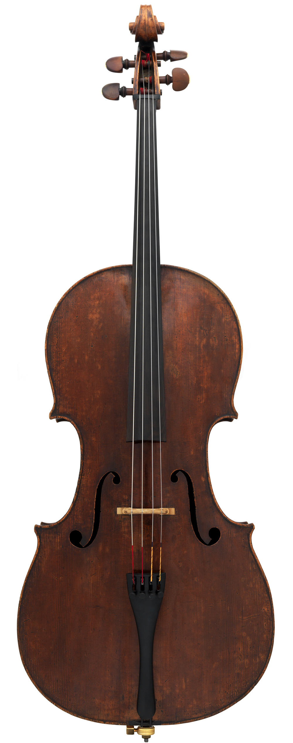 The Pawle is one of the cellos made on the B piccola mould in 1730