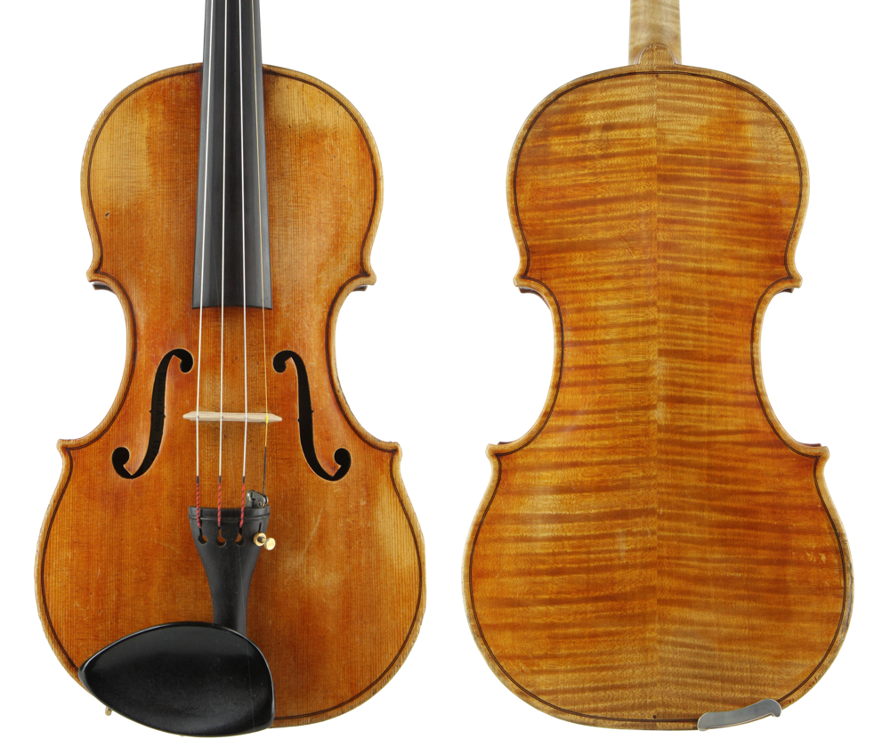 A violin from 1932. Photos courtesy Sydney String Centre